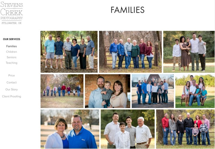 Image: My family portrait gallery.