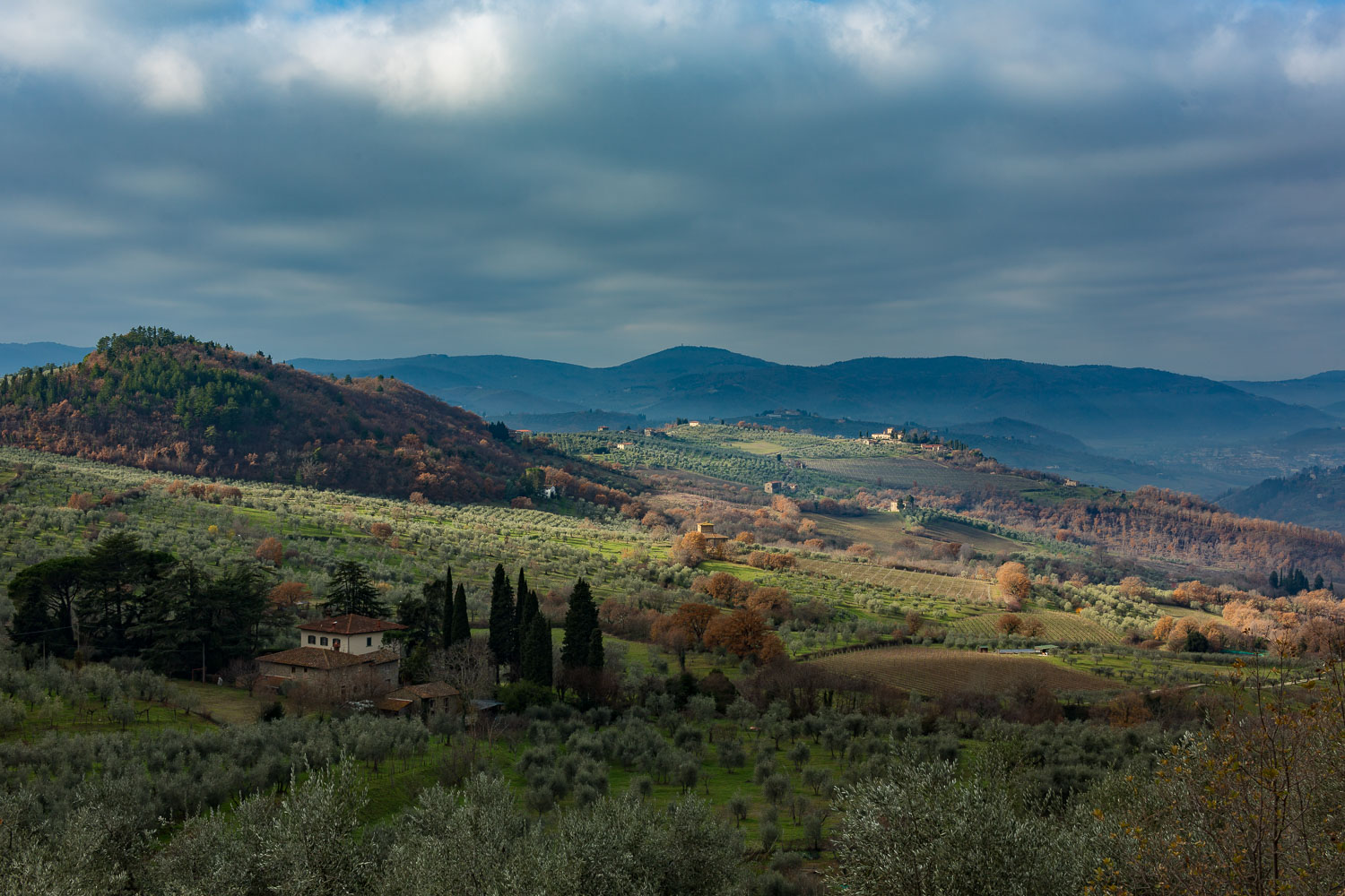rolling hills Tuscany - How to Break the World Down into Elements to Create Better Photos