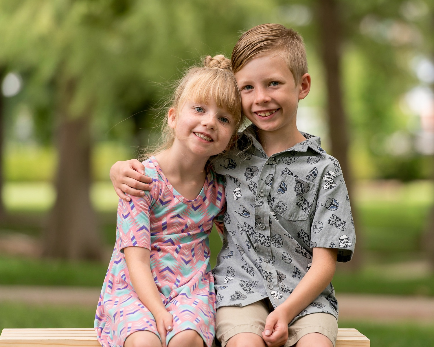 two kids with arms around each other - The Importance of Getting the Image Right In-Camera