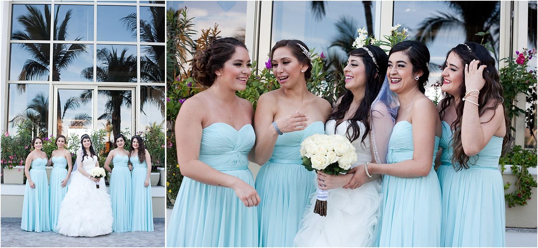 girls wedding party - wedding day photography