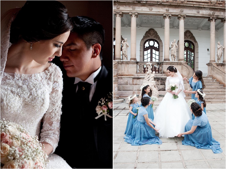two wedding photos - wedding day photography