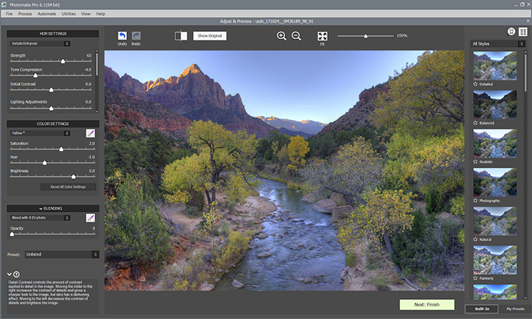 Photomatix pro ending point - Making the Best Use of HDR in Landscape Photography