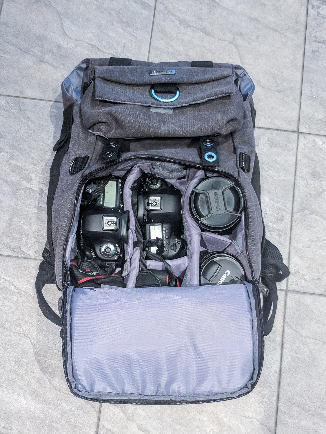 Review: Evecase Canvas DSLR Backpack