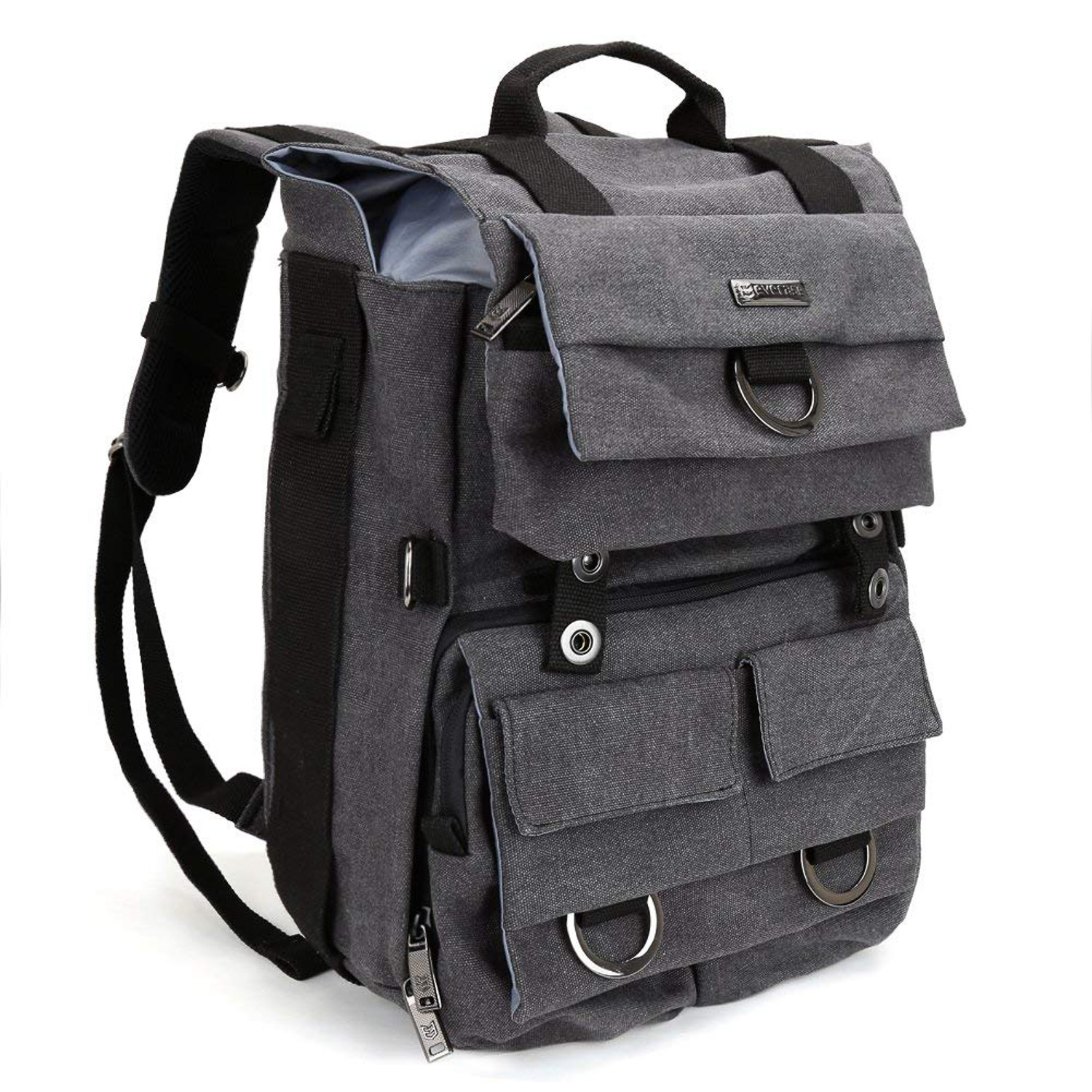 141ba5629d Review  Evecase Canvas DSLR Backpack