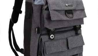 Evecase Canvas DSLR Backpack