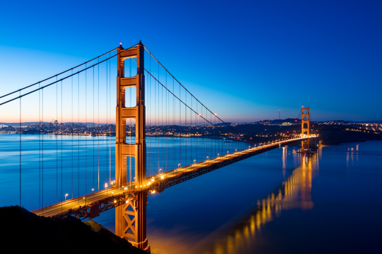 Travel Icon - Golden Gate bridge