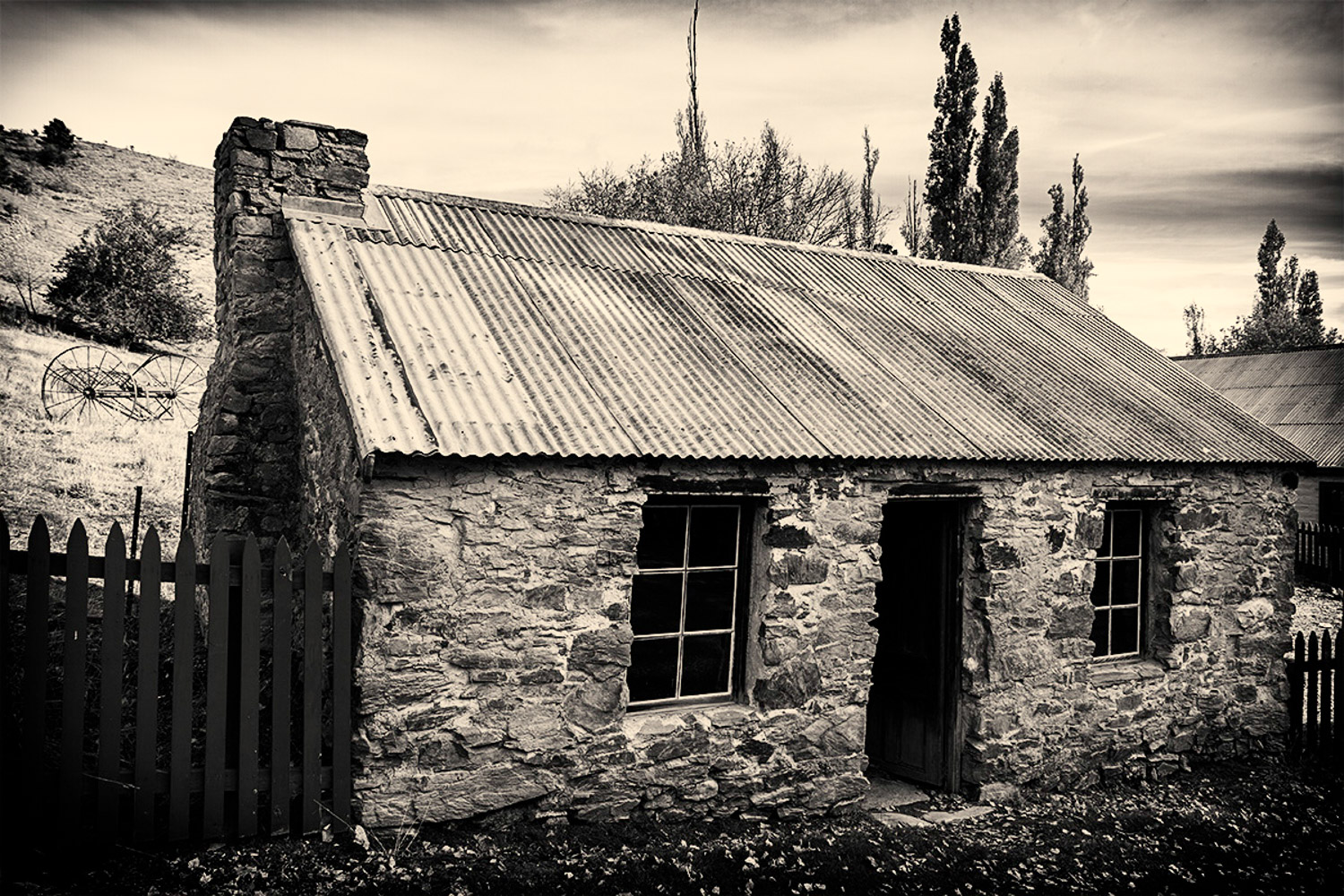 old cabin b/w - Why Your Camera Gear Doesn't Matter