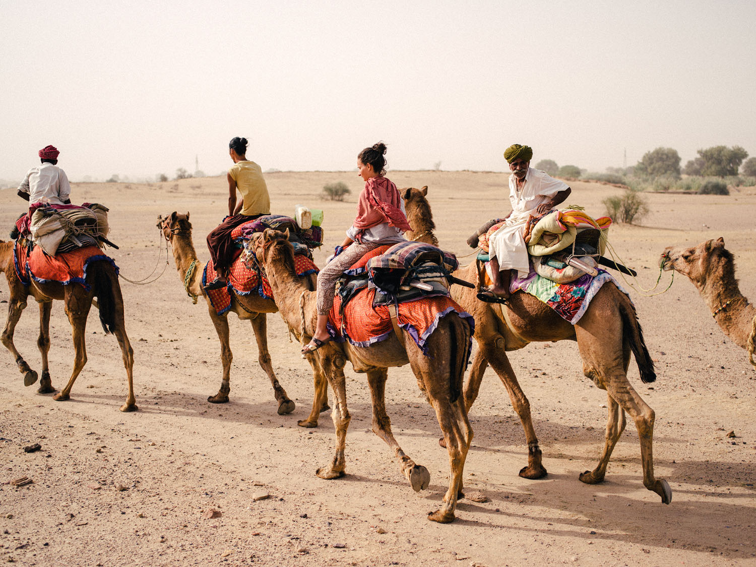 How to Make Travel Photography Interesting Again - camel safari