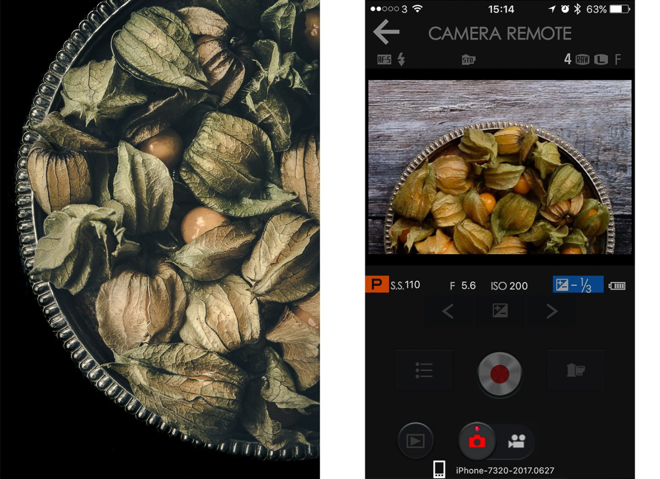 Physalis fuji app - How to Create Fine Art Images from the Mundane