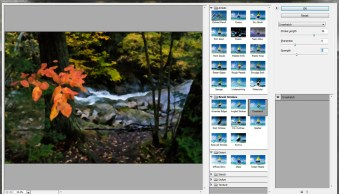 Using Photoshop filters during post-processing to correct and enhance images