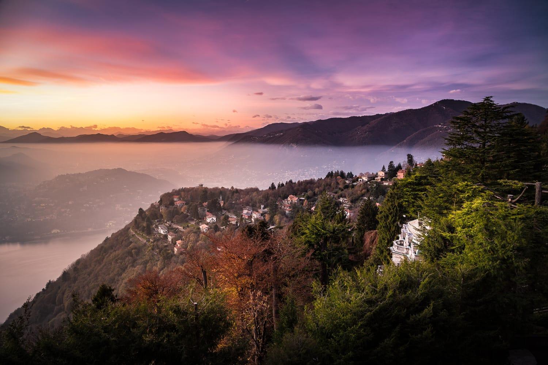 Brunate Lago Di Como, Italy