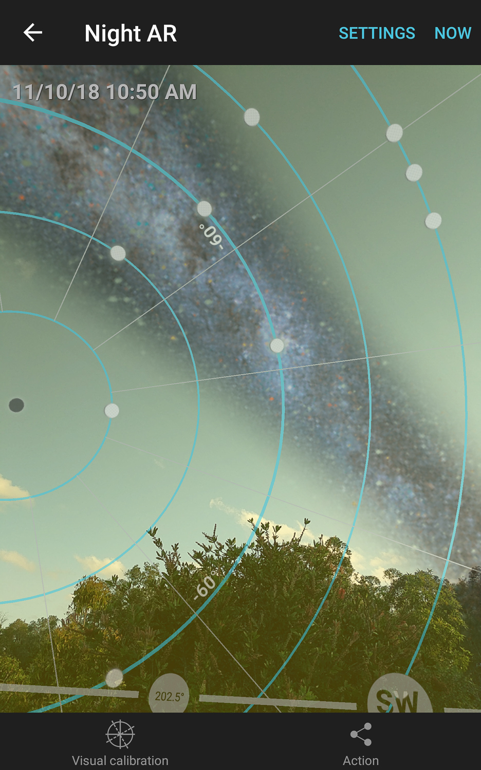 how to plan astrophotography with photopills app