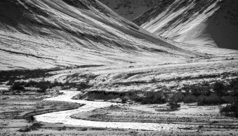 Black and White in the Outdoors: Learning to see in Monochrome