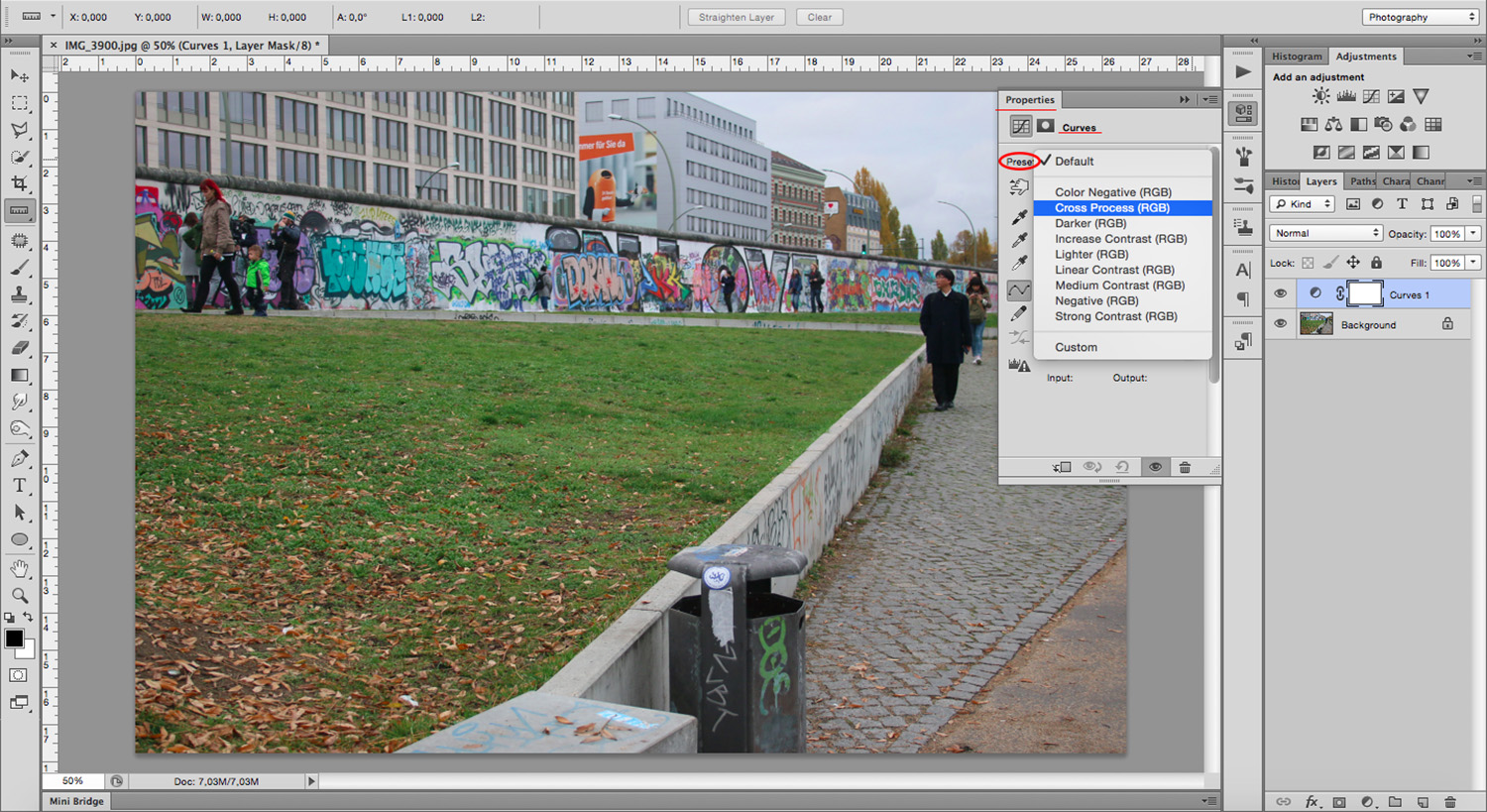 Cross Process RGB - How To Mimic a Cross-Processing Effect in Photoshop