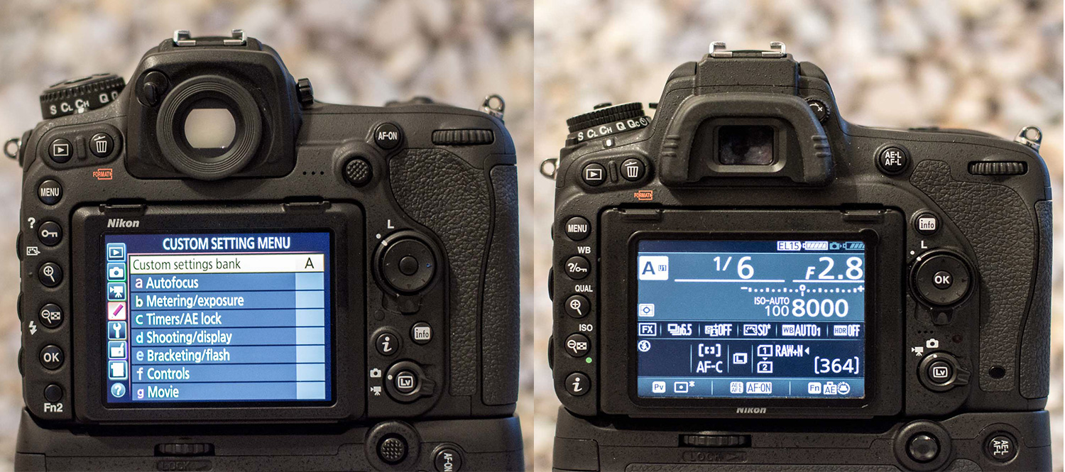 Nikon Custom Modes of the D750 and D500  Which mode is best?
