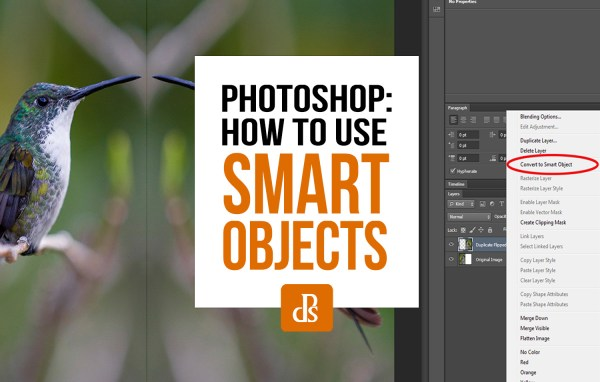 Photoshop Smart Objects for Beginners