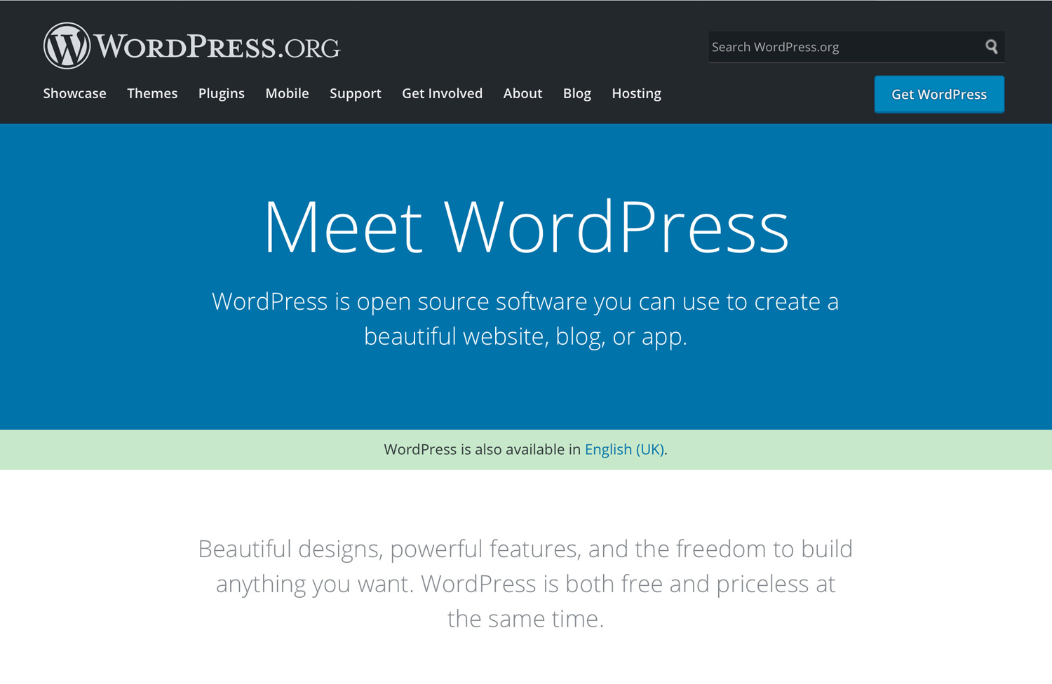 Wordpress dot org - How to Find the Right Website Platform that Works For You