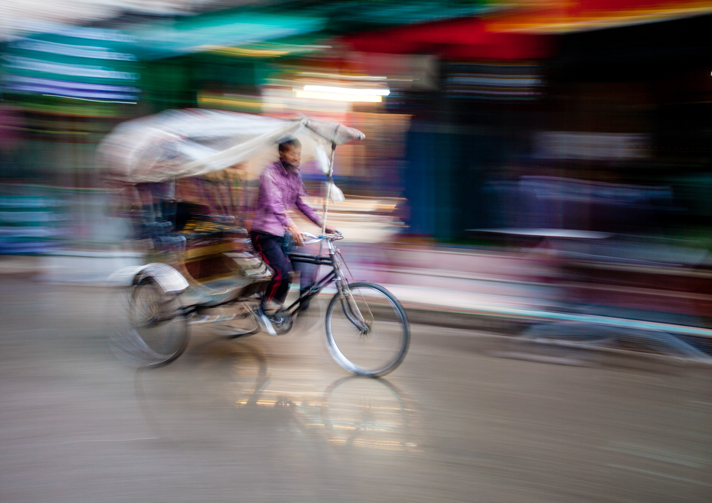 Image: Rickshaw rider, Kathmandu, Nepal © Jeremy Flint