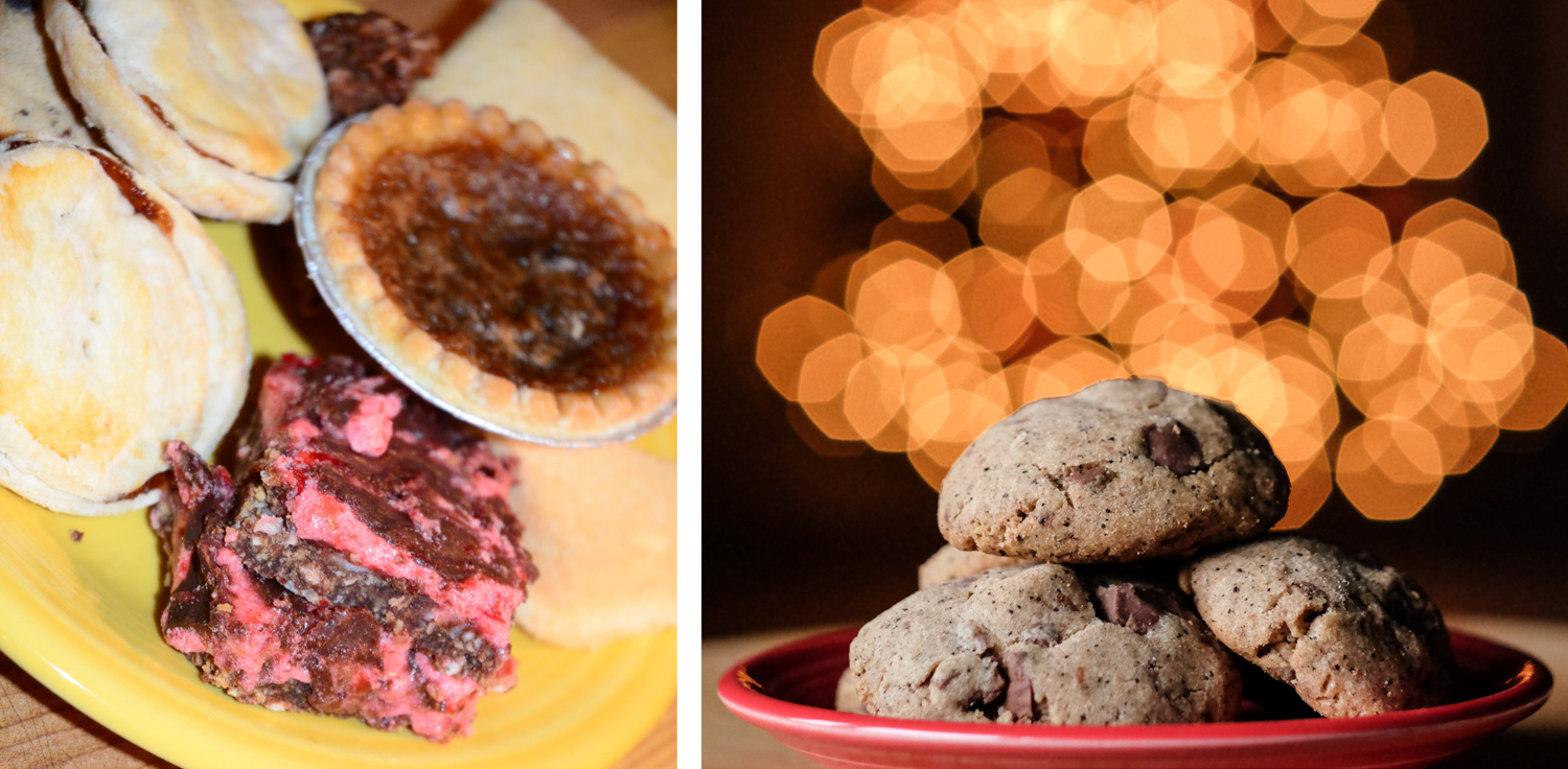 Window light - How to Take Great Food Photos this Holiday Season