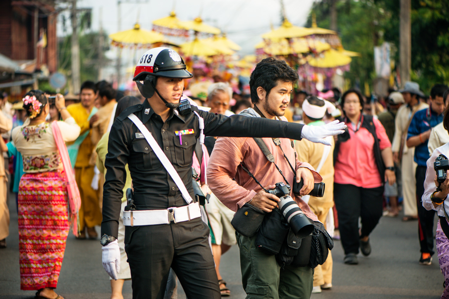 Why Carrying Less Camera Gear Will Make You a Better Photographer Poi Sang Long Festival