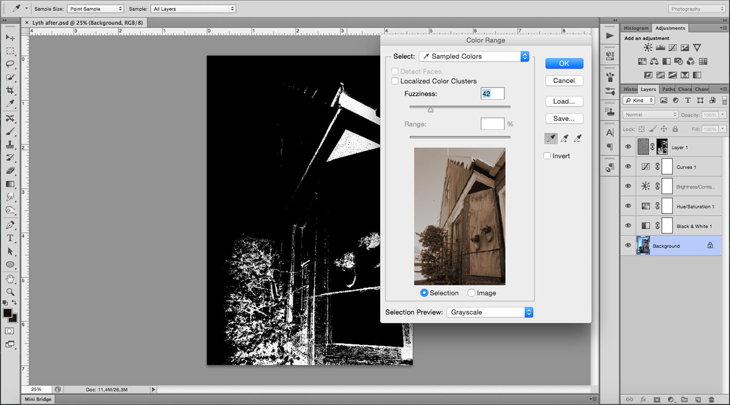 11 - How to Create a Lithography Effect Using Photoshop