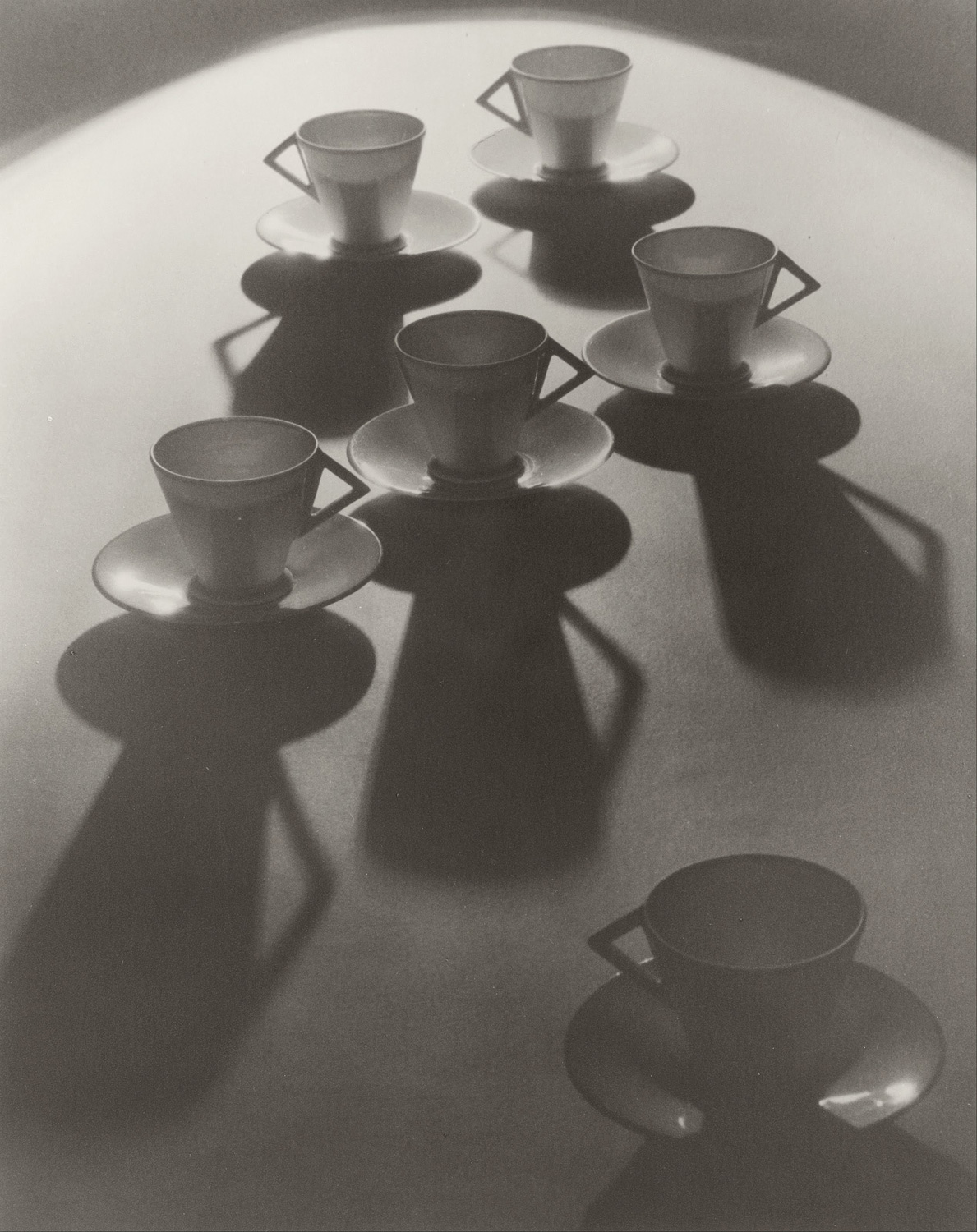 "Image: ""Teacup Ballet"" by Olive Cotton. Image courtesy of Wikimedia"