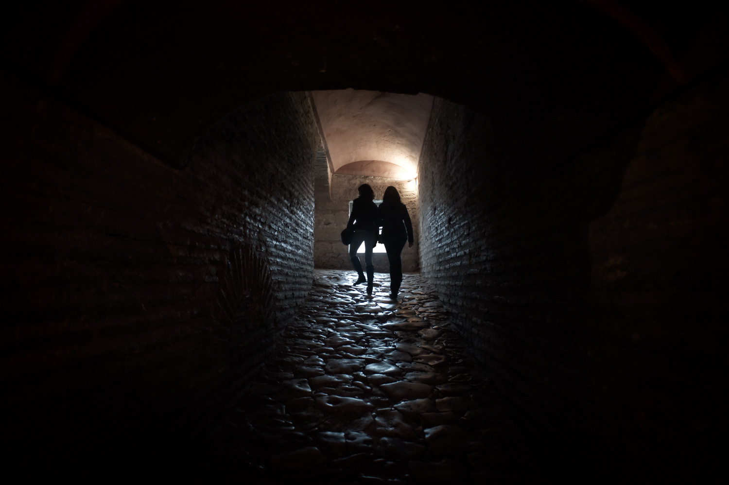 What to do When the Lights Down Low Silhouettes in a Passageway