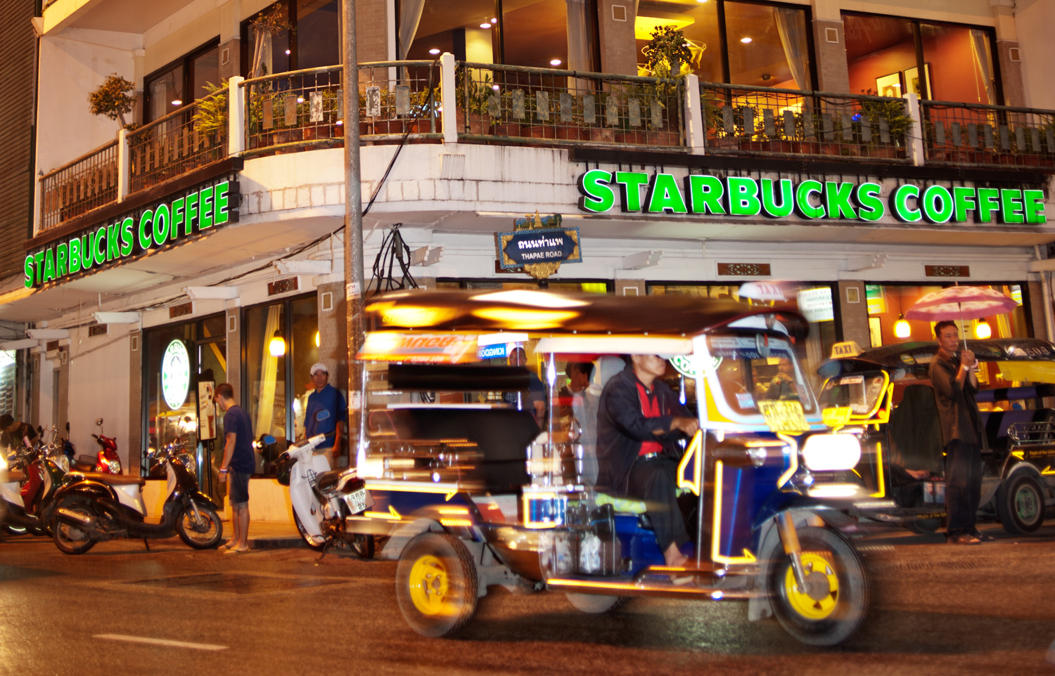What to do When the Lights Down Low Tuktuk