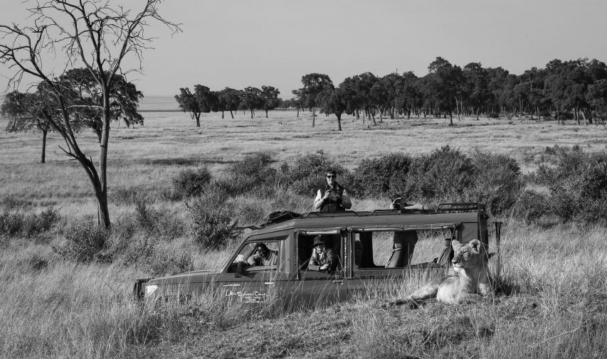 Image: A typical East Africa safari vehicle. Image courtesy of Governors Camp, Maasai Mara, Kenya