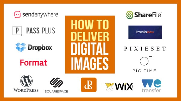 How to Deliver Digital Images to Your Clients