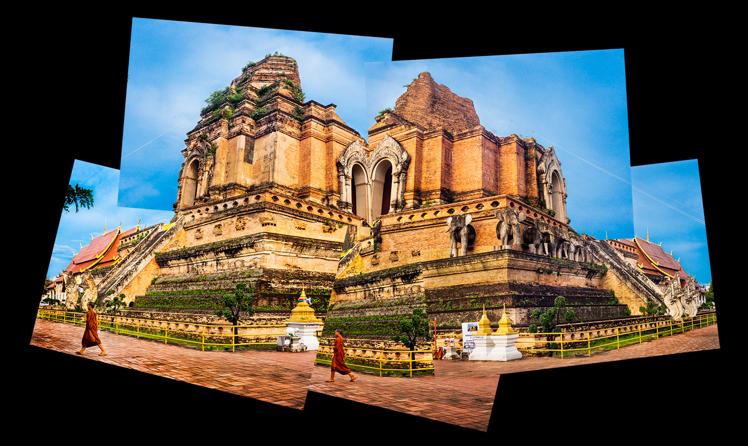Chedi Luang How To Make Amazing Photomontages
