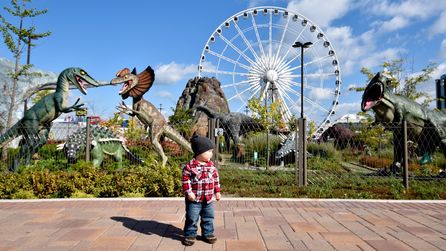 Image: As a child, I would photograph anything that grabbed my attention and made me look. Dinosaurs...