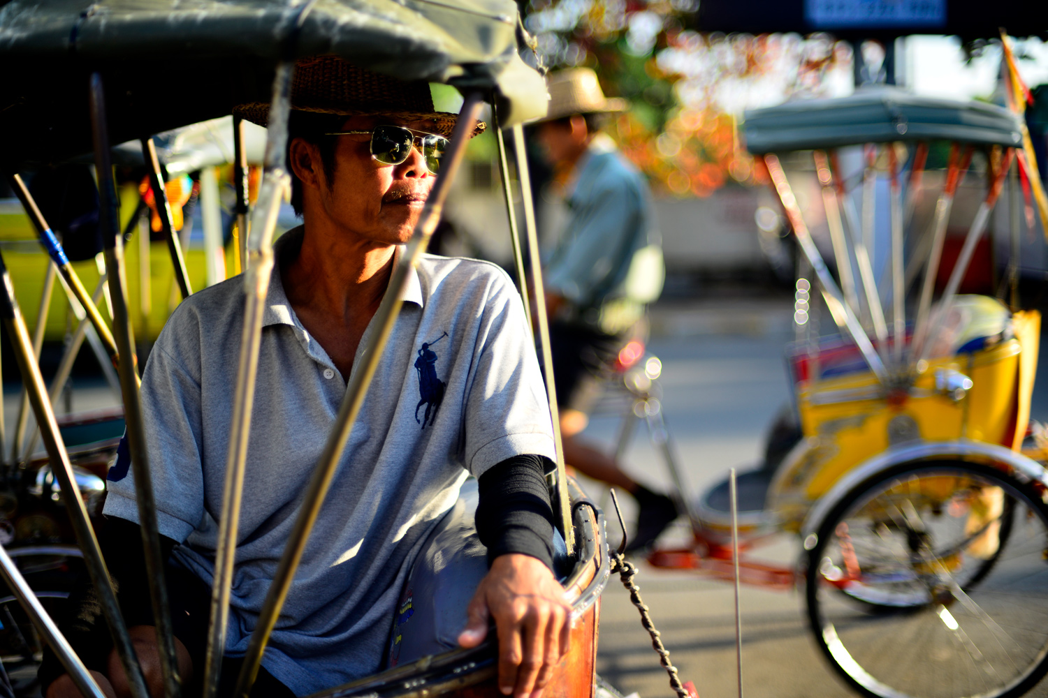 Tricycle Taxi in Chiang Mai Finding Your Strength In Isolation - 3 Methods To Make Your Subject Pop!