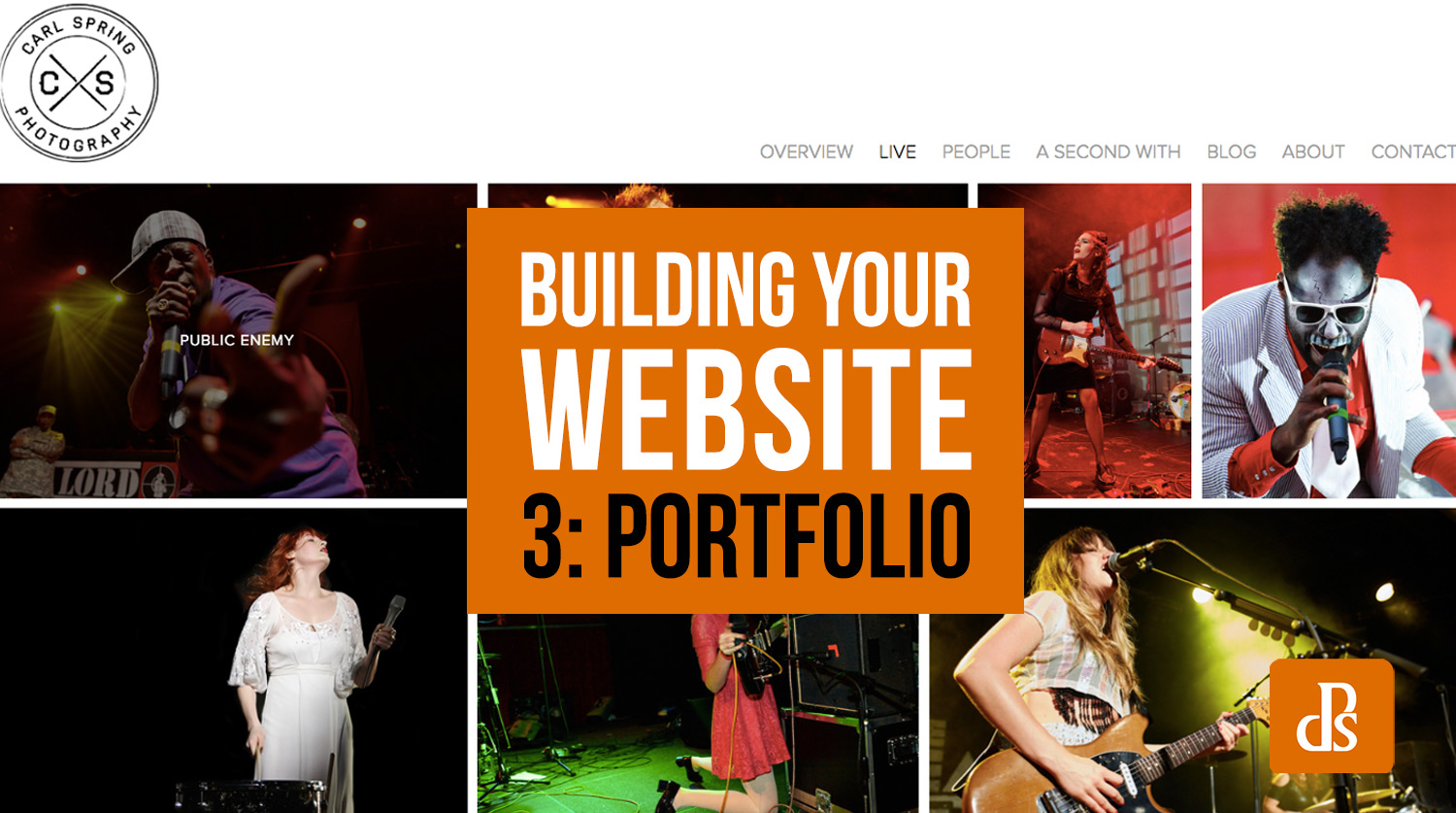 So You Want to Make a Website? Part 3: Creating Your Portfolio
