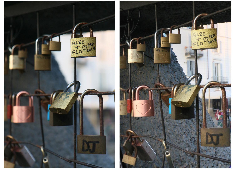 Image: Left image – APERTURE PRIORITY:1/60, f/2.8, ISO 200. Right image – APERTURE PRIOR...