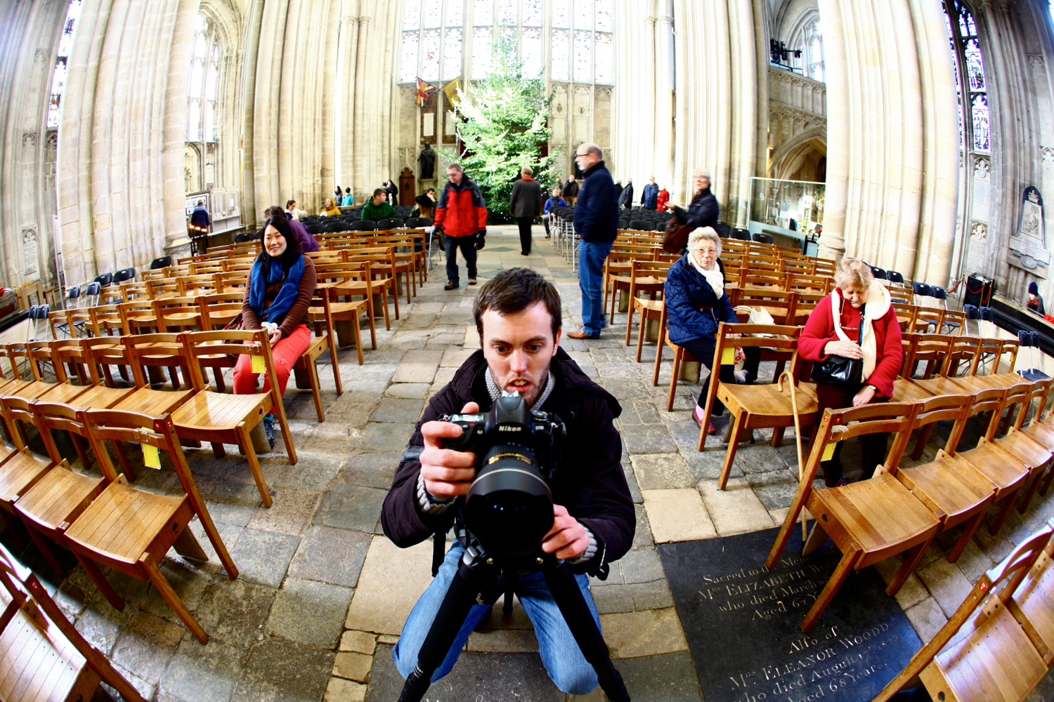 Image: A tripod combined with a decent wide-angle lens. This is a great architecture photography equ...