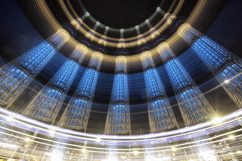 图片:这是东京晴空塔的一张照片。它是直接从相机出来的,并且有...
