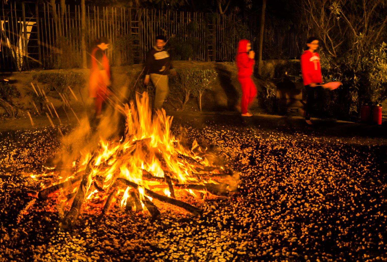Image: Lohri Festival Bonfire Gurgaon © Prasad Np