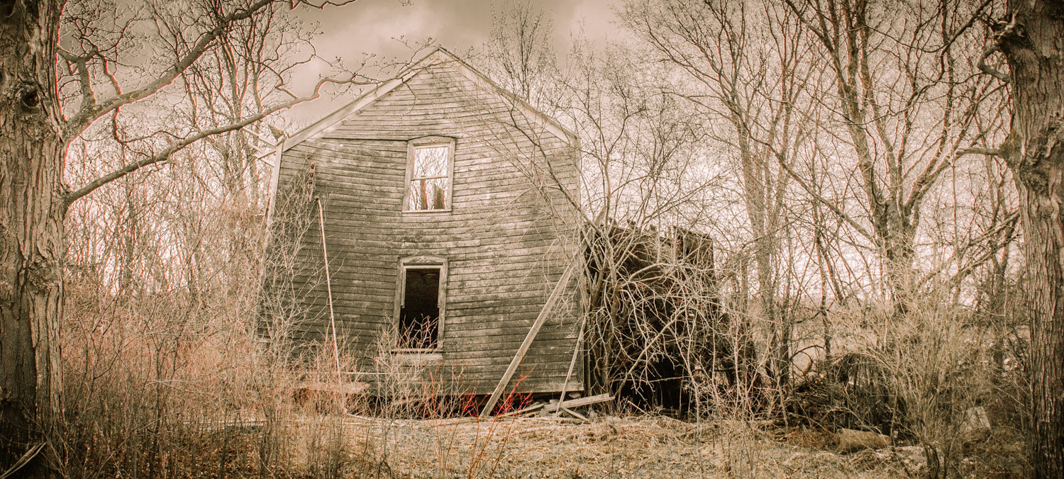 Image: I'm not normally one to photograph architecture, but I had been watching this house as...