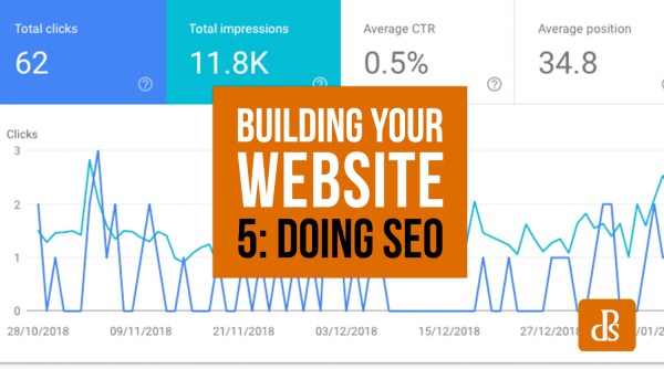 So You Want to Build a Website? Part 5: SEO