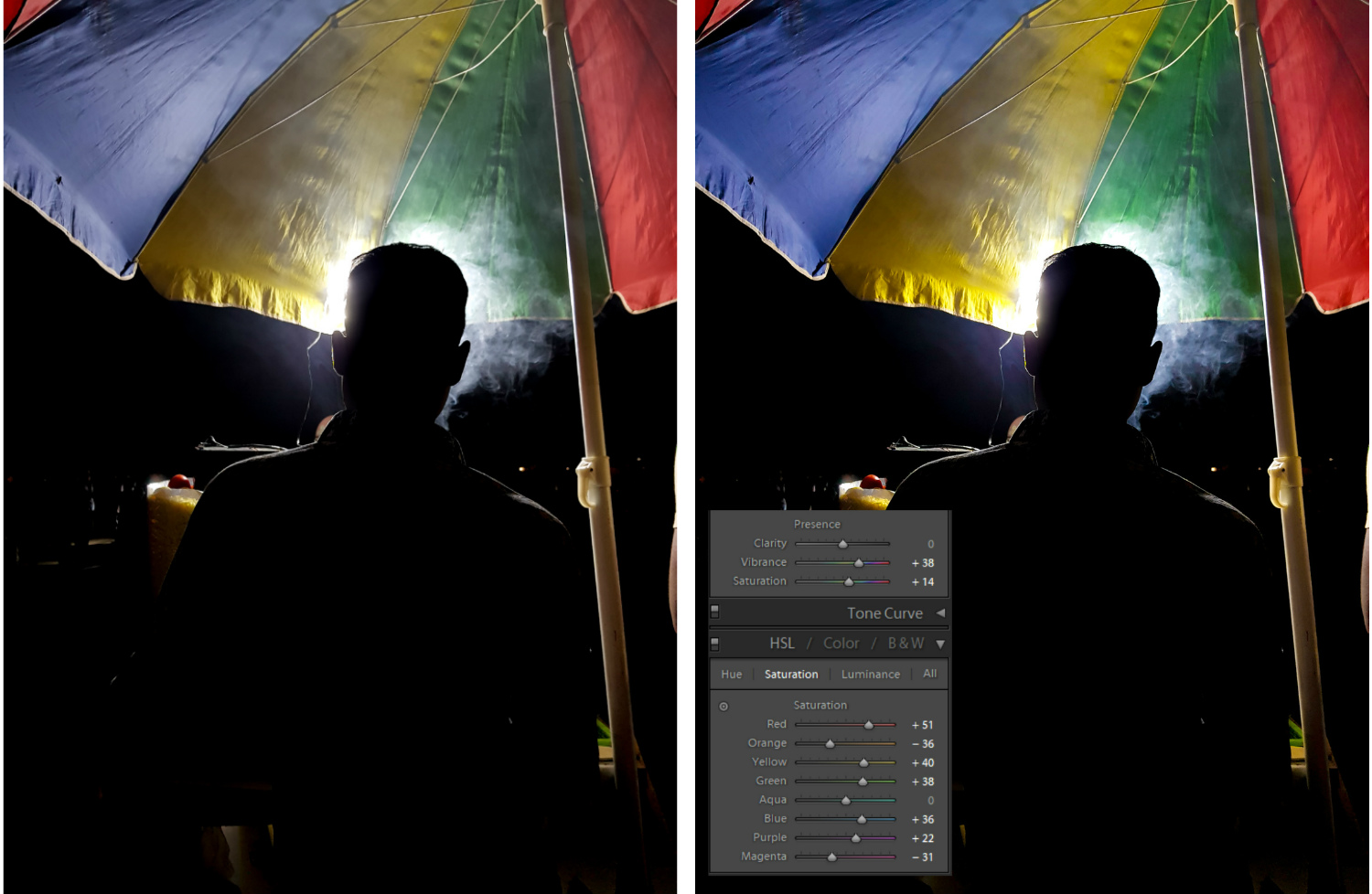 How to Edit Silhouette Photos in Lightroom