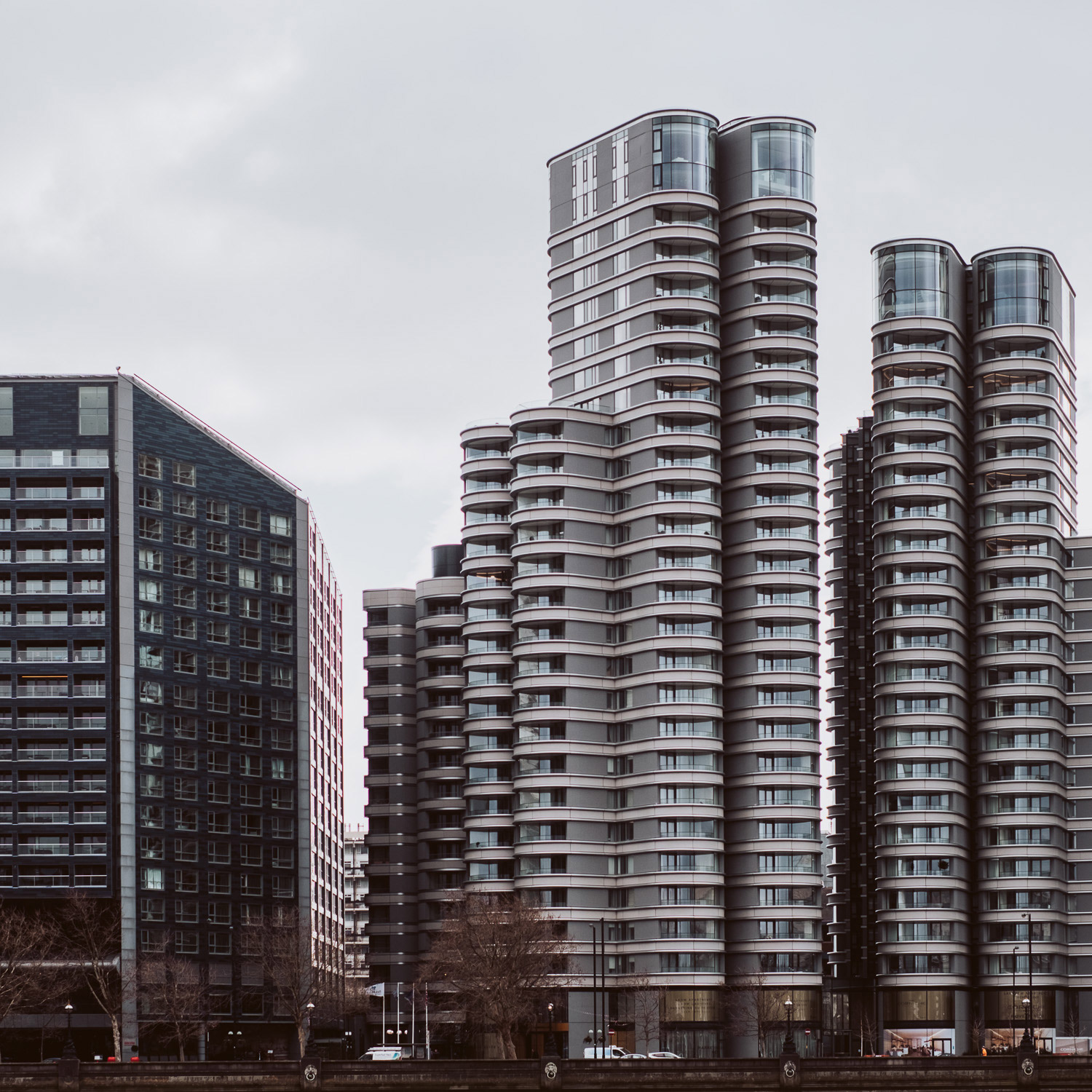 A photograph of new buildings on Albert Embankment, London. 8 - Can New Gear Kickstart Your Photography - Charlie Moss