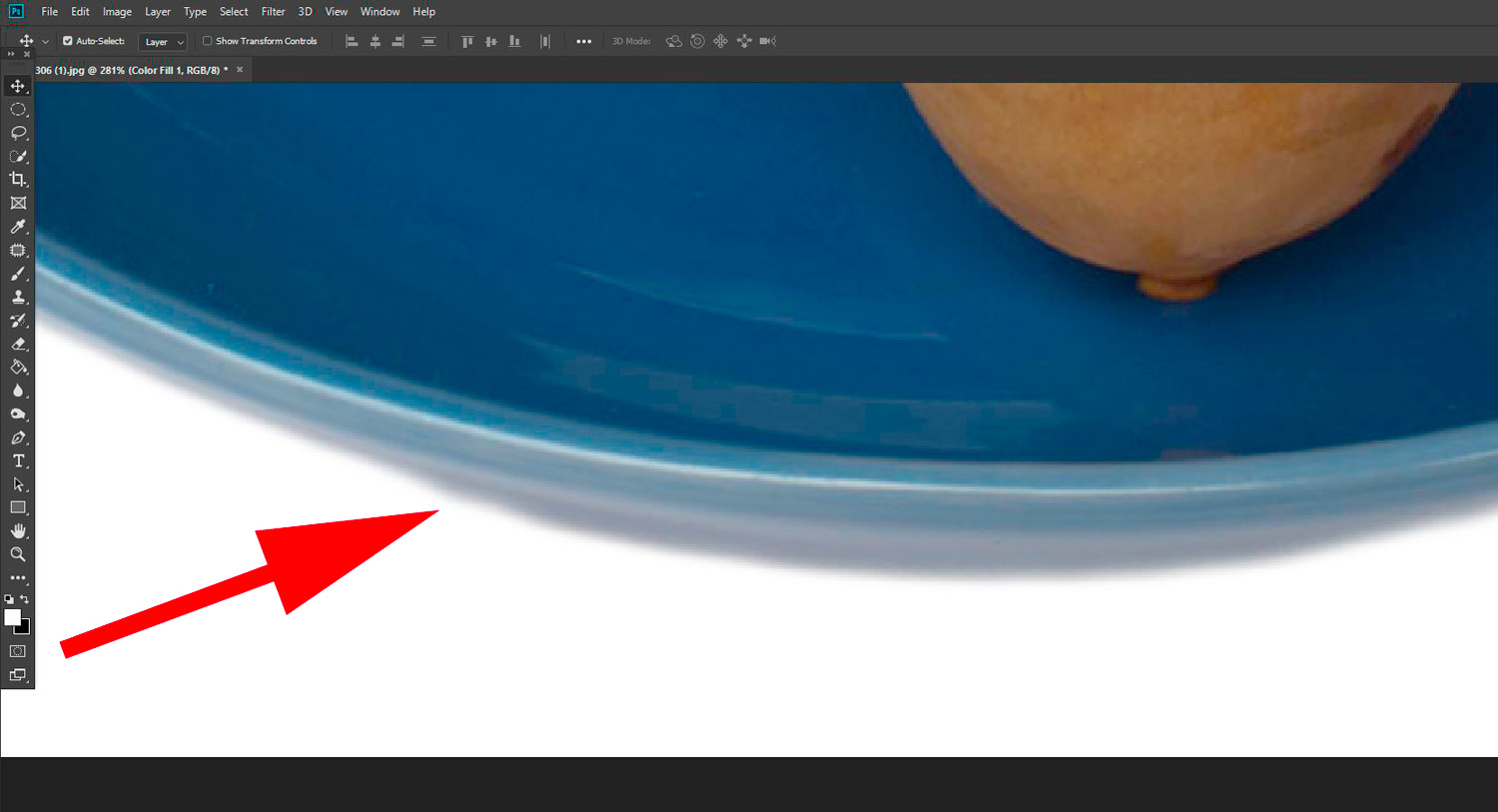 Seven Steps for Post Processing a Pure White Background Clean Edges