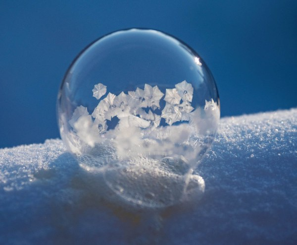 How to Photograph Frozen Bubbles in the Cold