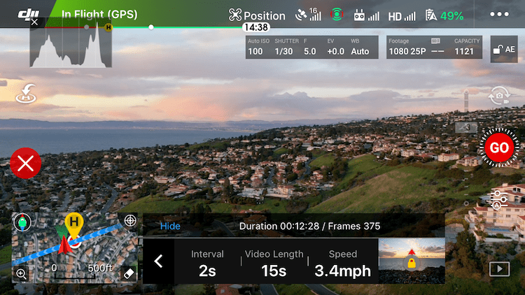 Aerial Time Lapse Basics with DJI Mavic Pro 2 Drone Specific