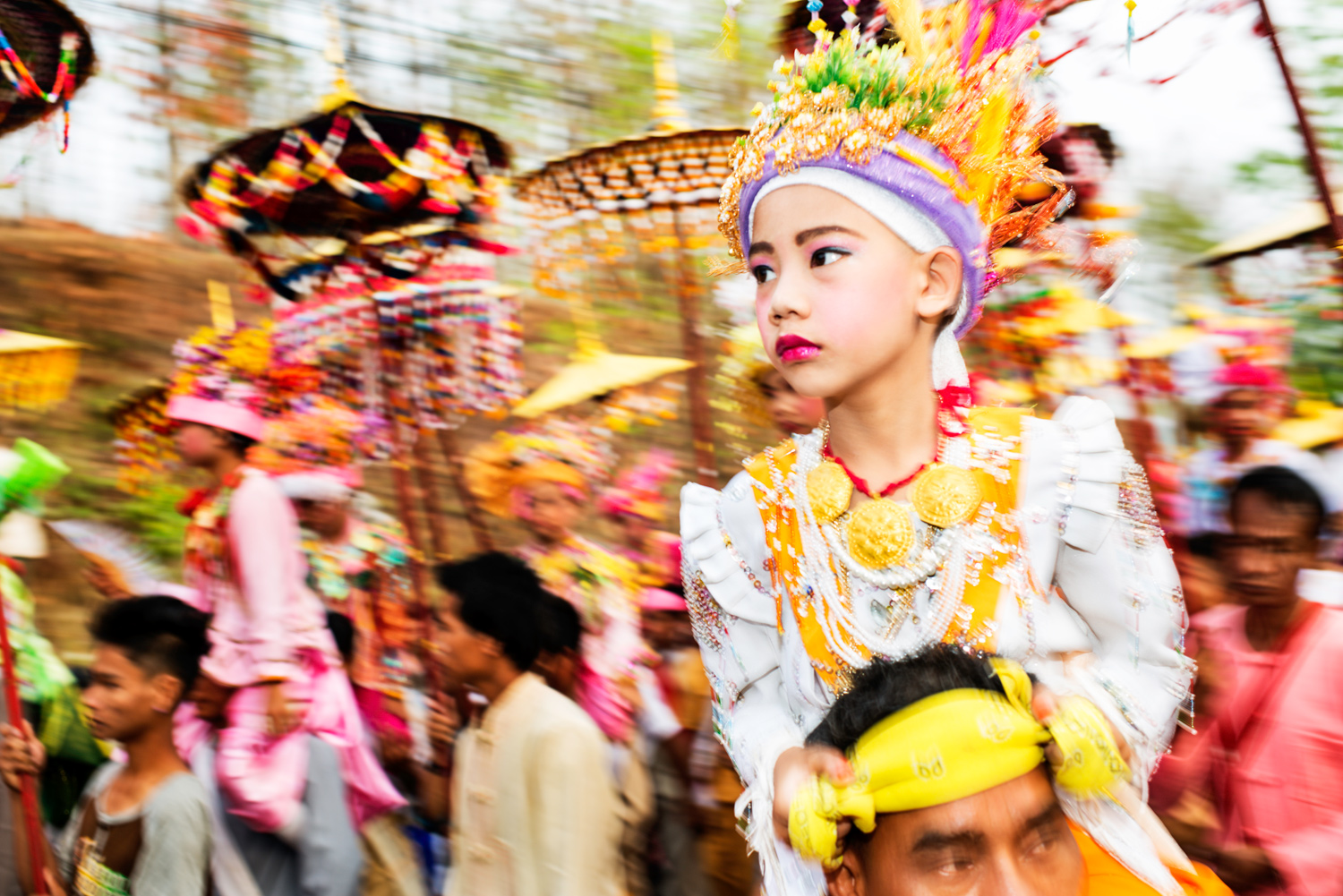 Royalty Free Editorial Stock Photography - What is it? Poi Sang Long Festival in Thailand