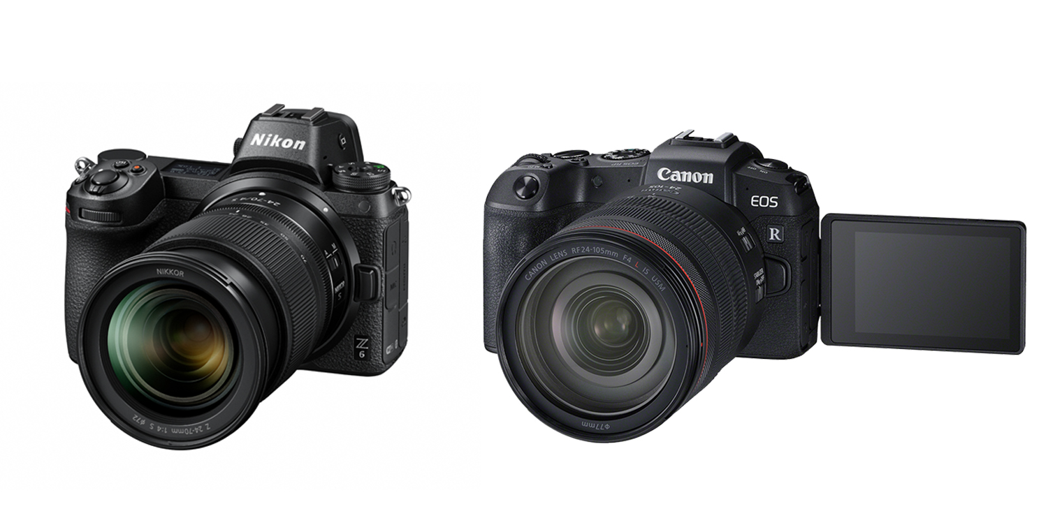 Canon Z6 and Eos R