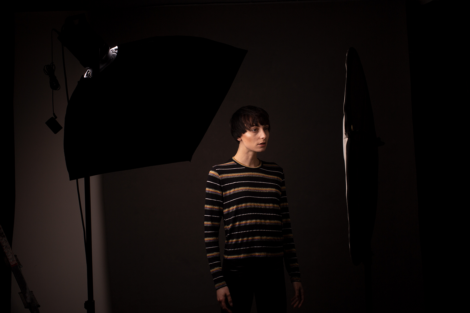 Image: Adding fill to your broad lighting can help with extreme contrast while still retaining shado...
