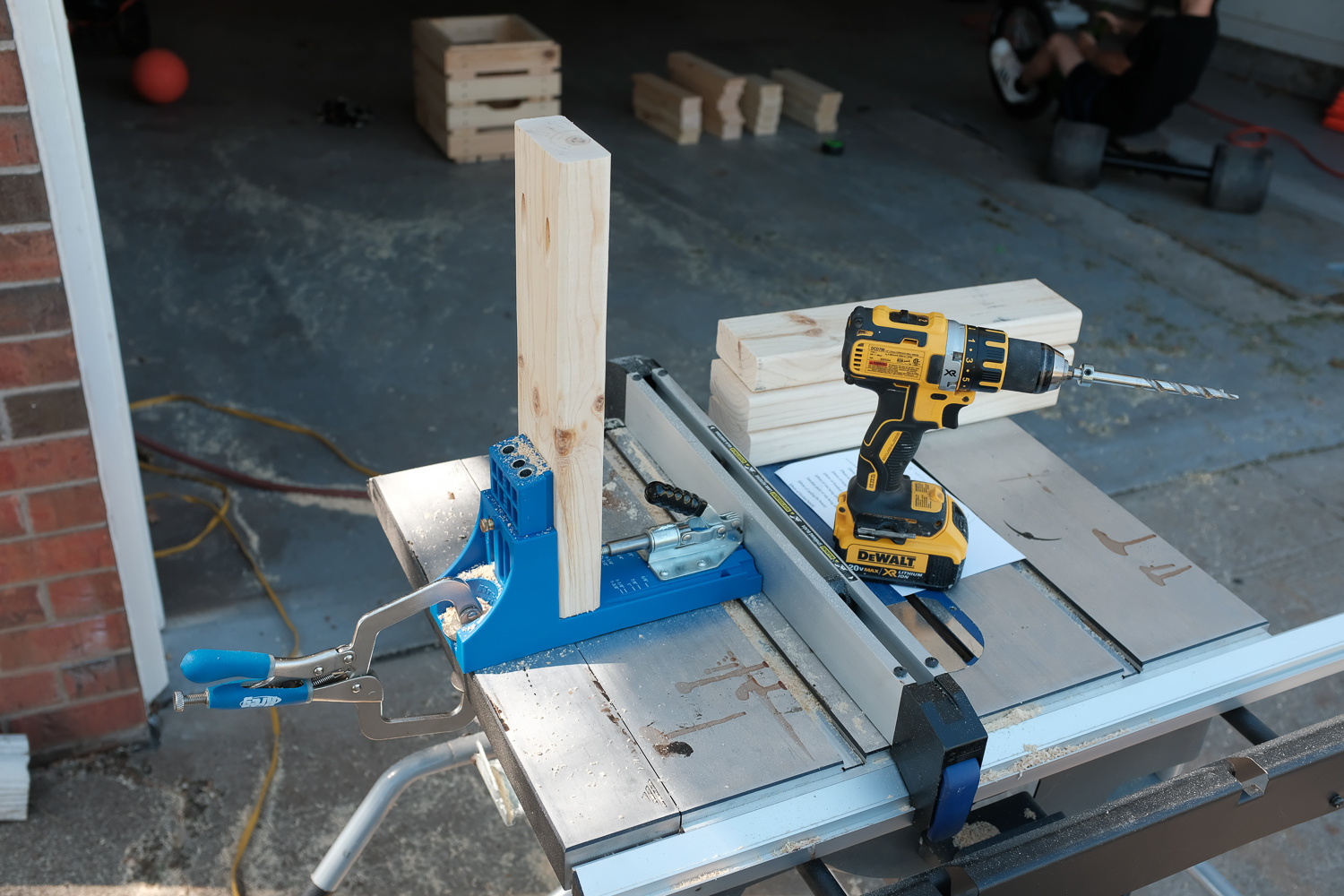 Image: A Kreg Jig is really useful but not necessary.