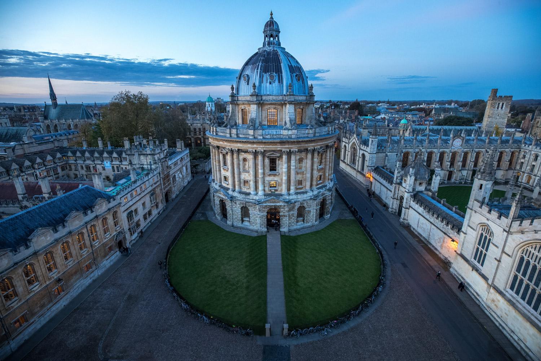 Image: University Church of Saint Mary the Virgin viewpoint © Jeremy Flint
